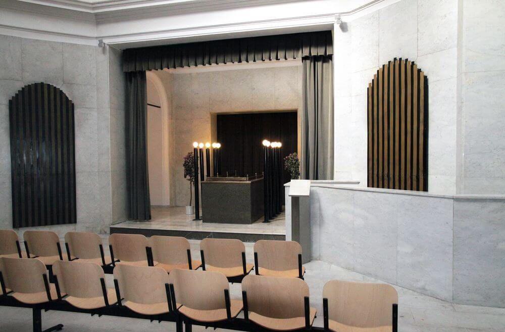 Nová obřadní síň Olšany