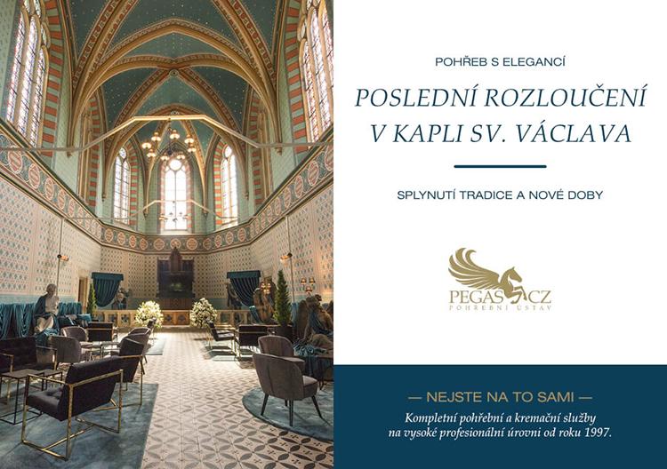 Pohřeb s elegancí - Poslední rozloučení v kapli sv. Václava