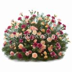 květinové aranžmá na položení